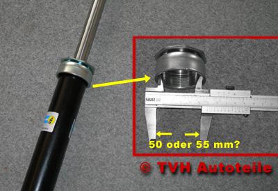 50 oder 55 mm im Durchmesser